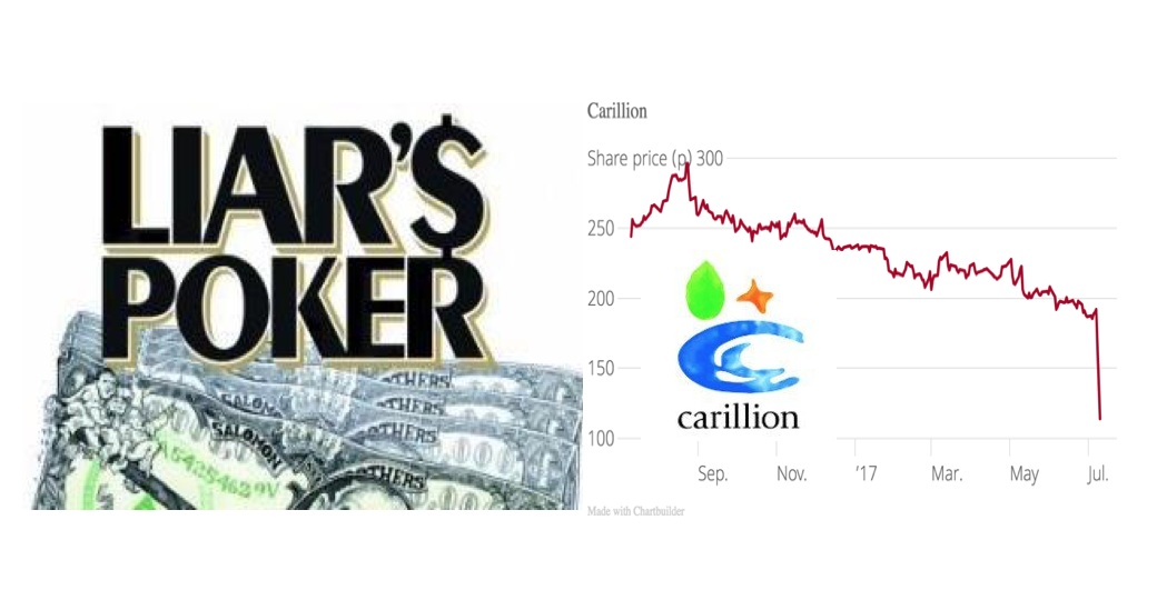 Carillion, A Game Of Liars Poker