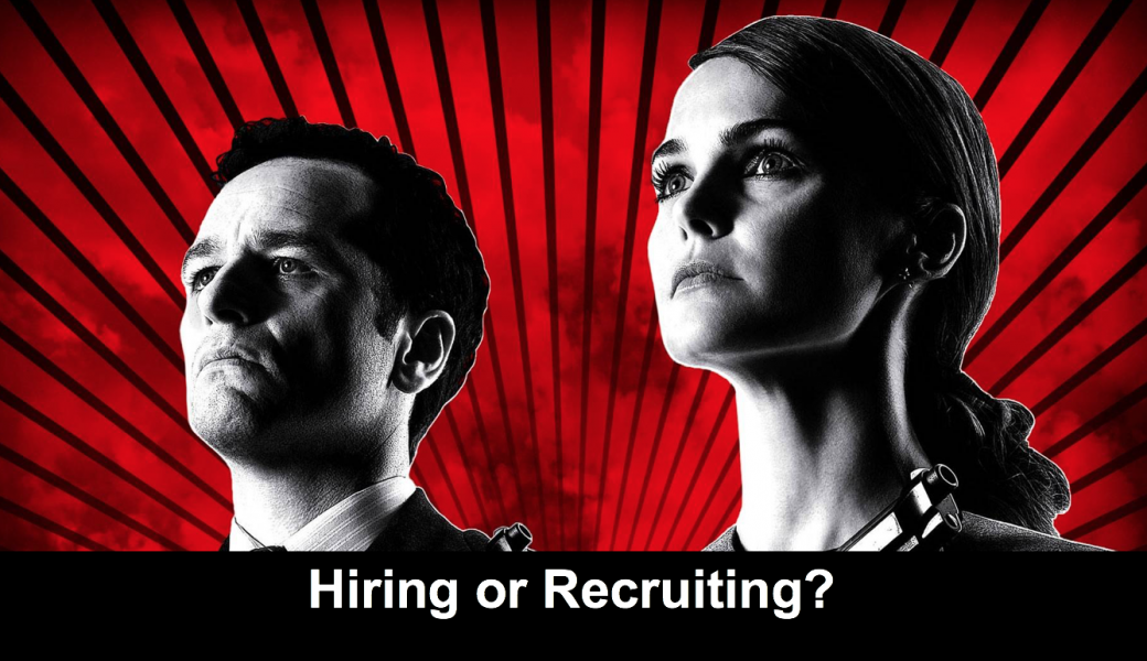 Hiring Vs Recruiting?