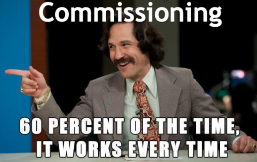 Commissioning Industry Chaos
