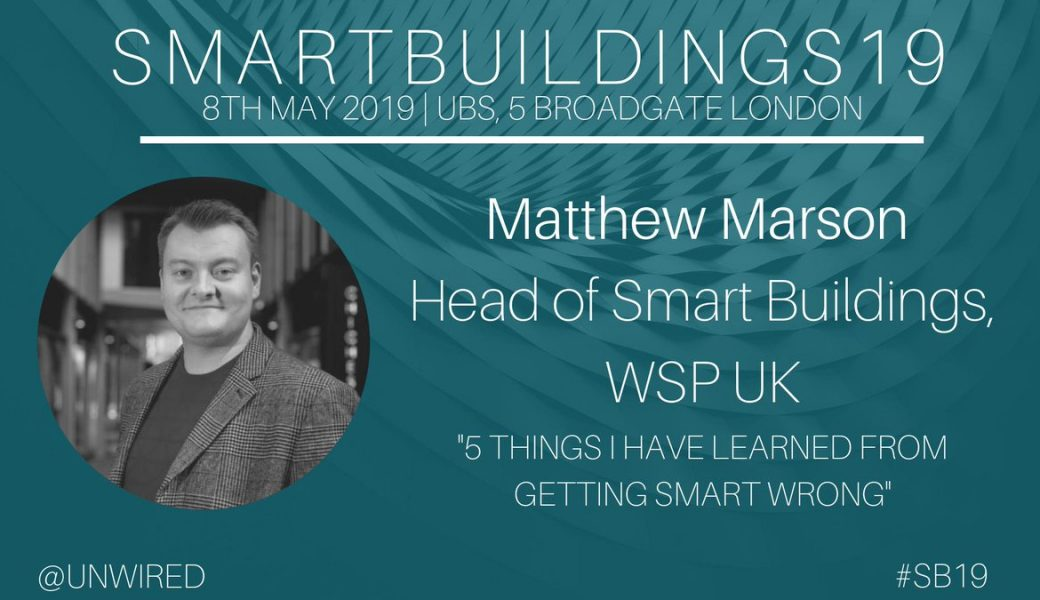 Matthew Marson – Head Of Smart Buildings WSP
