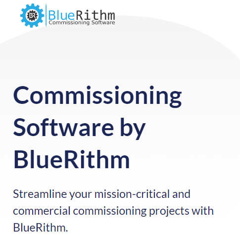 BlueRithm Commissioning Software Get Started Offer