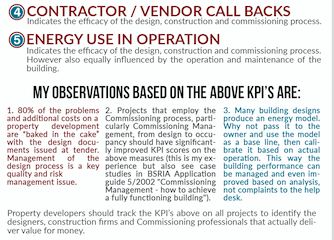 Project Management & Commissioning KPI's – A Way To Measure Quality? Infographic