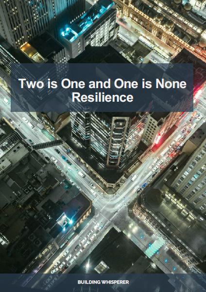 Two Is One And One Is None – Resilience E-Book